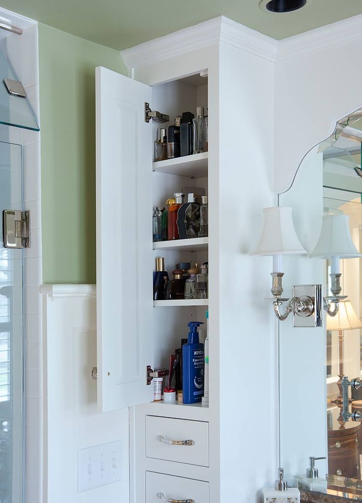 Vanity storage cabinet
