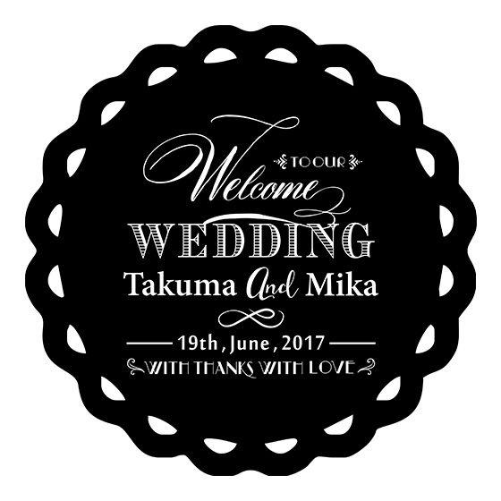 結婚式のケーキトッパー、スタンプ、ガーランド・レターバナー、黒板ウェルカムボード通販。手作りDIYウェディングのための無料ダウンロードや名入れ・イニシャル対応のカスタムオーダーメイドショップです。