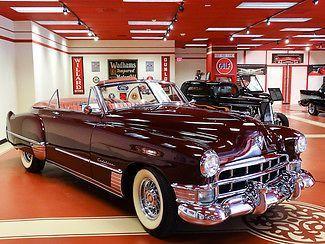 ✿1949 Cadillac Series 62 Convertible✿ #1949cadillacconvertibleclassiccars