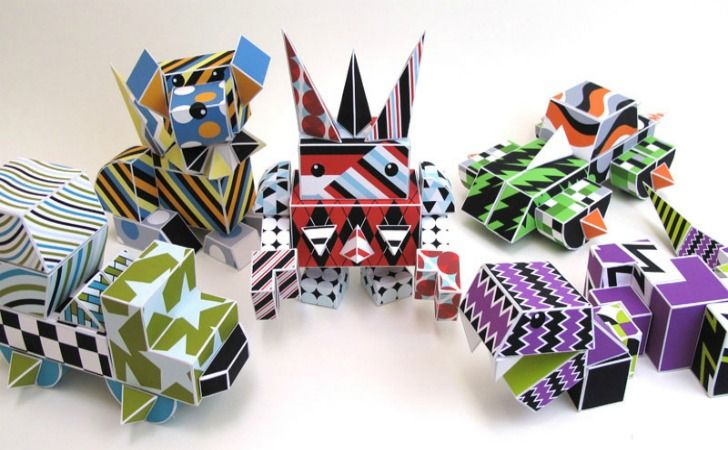 Paper Punk: Recyclable Paper Building Blocks for Green Kids Ages 6 To 99 | Inhabitots