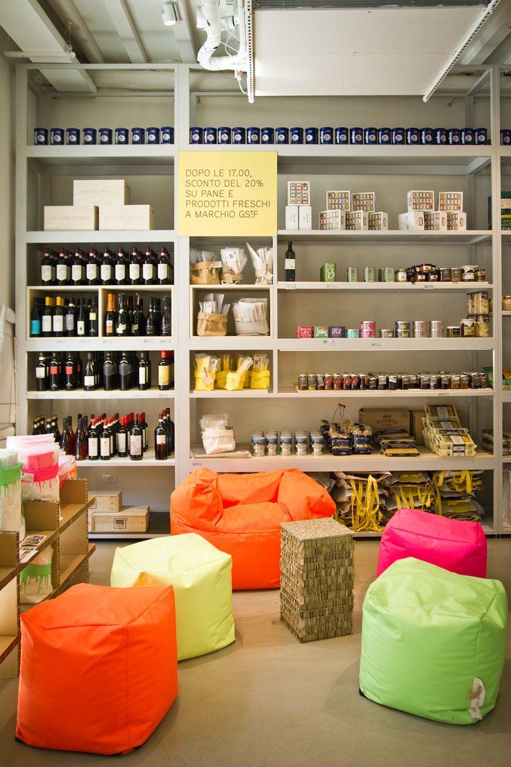 "idea for display | cafe | ""god save the food"" | milan, iitaly"
