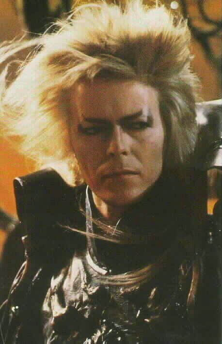 Still crushin' on glam Bowie, forever the Goblin King