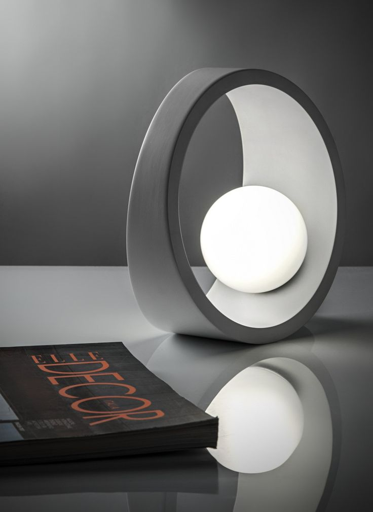 LED aluminium table lamp TENUE by @ilide  #design nicolò gessa  http://www.justleds.co.za