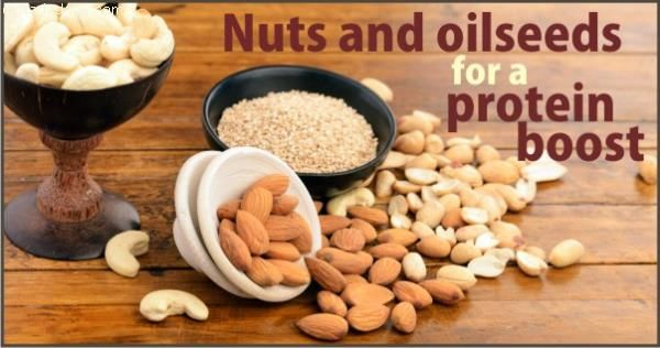 Apart from milk and milk products, cereals and pulses, nuts and oilseeds like cashew nuts (kaju), almonds (badam), sesame seeds (til) and groundnuts etc. are also a good source of protein. You can make a positive lifestyle change by replacing unhealthy snacks with a fistful of nuts. You can also make sweet balls by combining crushed nuts with jaggery, dates, honey, etc. This is sure to be enjoyed by young and old alike. However, remember that nuts and oilseeds have saturated fatty acids and…