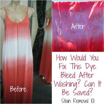 17 best images about clothing stain removal on pinterest for Remove red stain from white shirt