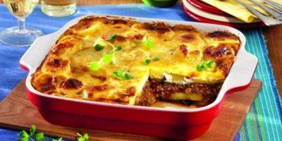 Musaca de cartofi cu carne. Reţetă clasică