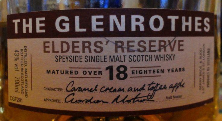 Glenrothes 18yo Elder's Reserve 43%