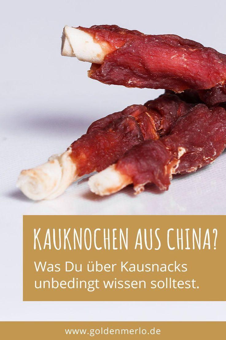 Sind Kauknochen Und Snacks Aus China Giftig Und Gefahrlich Fur