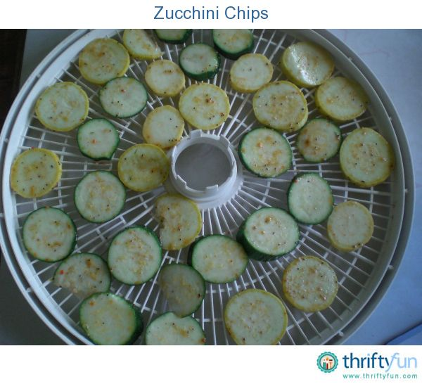 Since I normally don't buy potato chips, I decided to dehydrate some zucchini slices. I tried a few other veggies/fruit from my overflowing garden as well. The BBQ zucchini flavor seemed the biggest hit in our house!