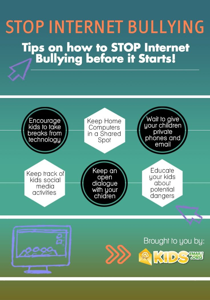 how to stop internet bullying