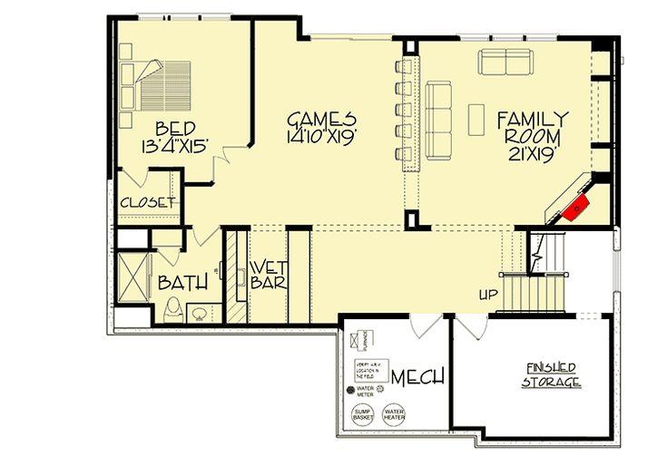147 best modern house design images on pinterest cottage for Storybook craftsman house plans