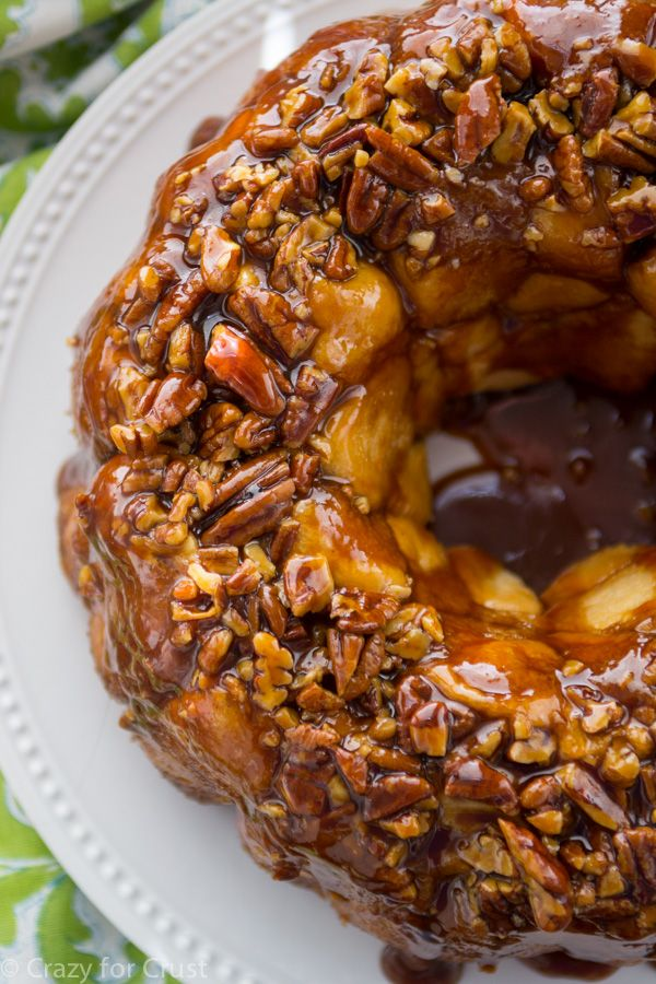 Gooey Caramel Pull-Aparts are perfect for holiday breakfast or brunch!