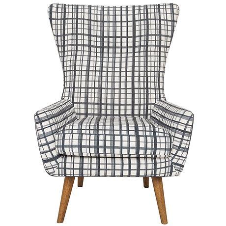 Modern Wing Armchair