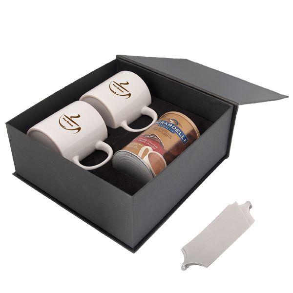 Cadeaux Tendance - Ensemble de Tasses et Chocolat Chaud