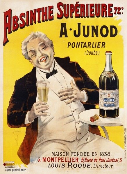 Absinthe Superieure Beverage Poster by