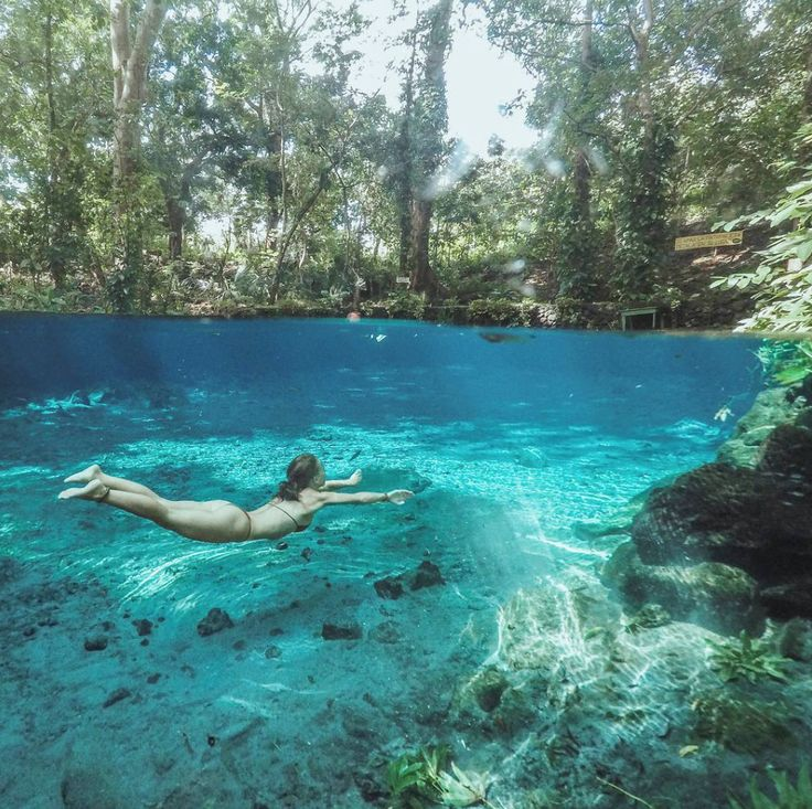 Ojo de Agua's crystal clear water is perfection. Don't miss out on this incredible locale during our Ometepe tours. Photo: IG the_Limitless_ones #ranchosantanagoodlife