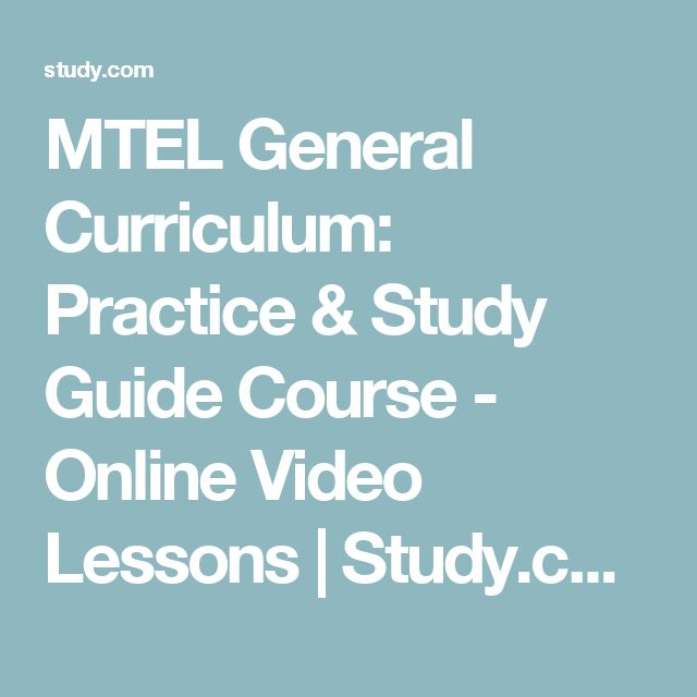 24 best rica test prep images on pinterest test prep case study mtel general curriculum practice study guide course online video lessons study fandeluxe Gallery