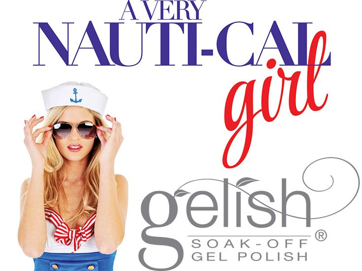 Gelish a Very Nautical Girl Collection