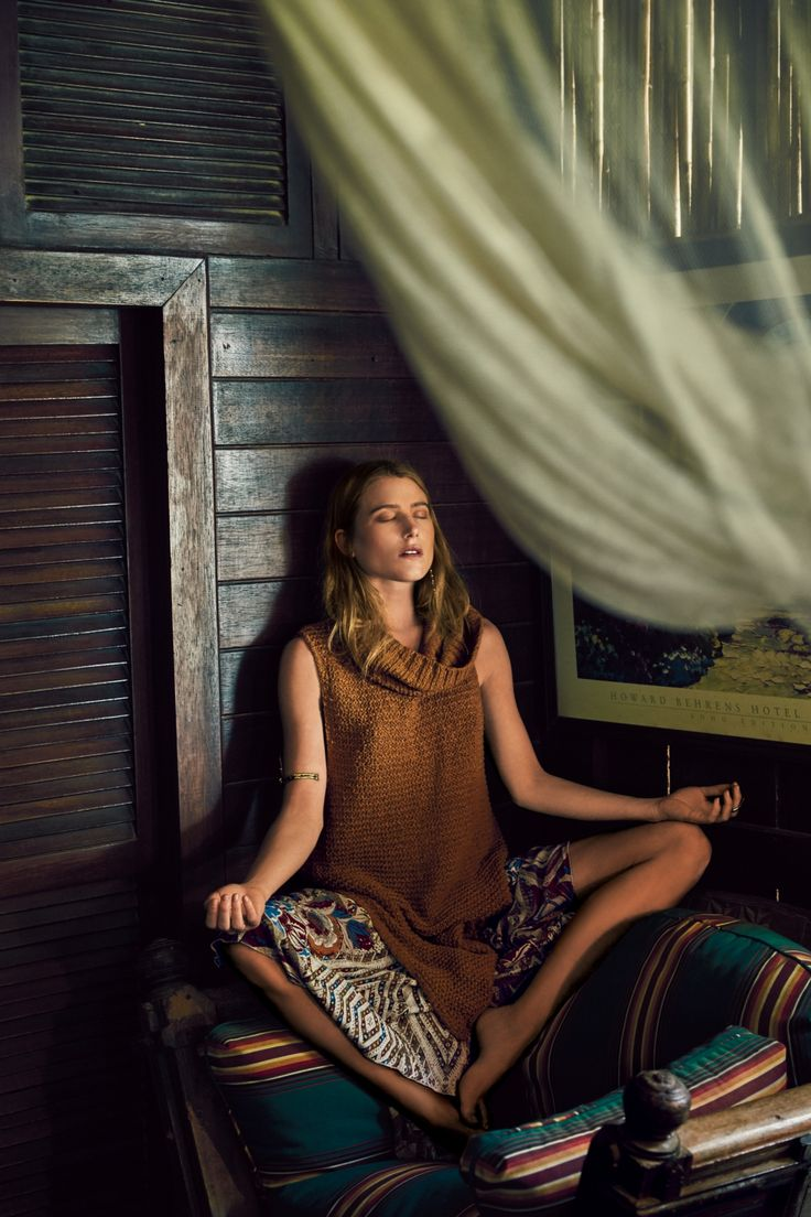 Dree & Langley Fox Hemingway for Free People May 2015 Campaign