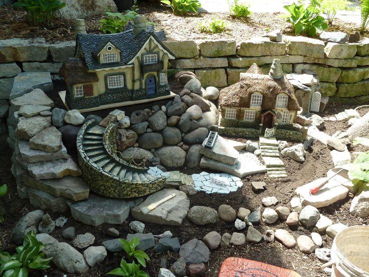 Exceptional Fairy Garden Mansion!!! #Diy, #Garden, #art Design Inspirations