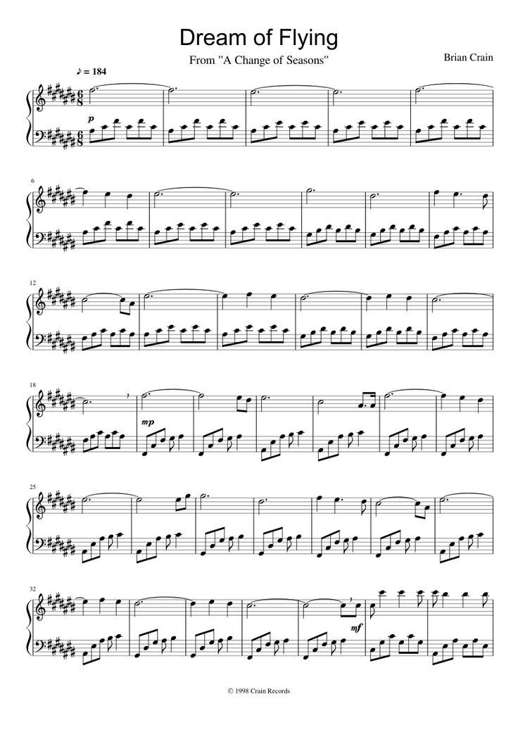 rain brian crain sheet music pdf