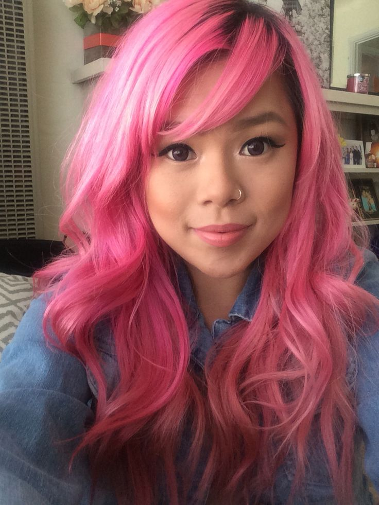 Bright Pink Scene Hair Hair Colors Ideas Of Bright Pink ...