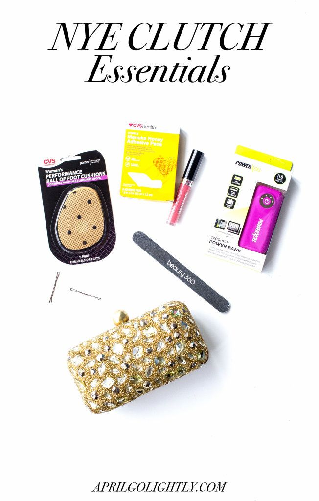 New Year's Eve Clutch Essentials for a NYE Party
