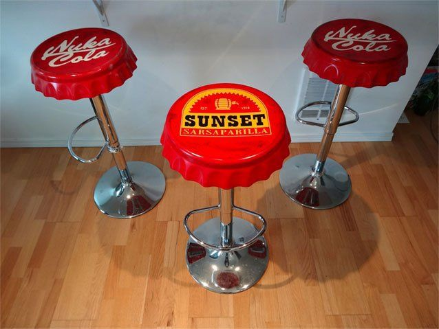http://gameranx.com/features/id/30958/article/take-a-nuka-break-with-these-fallout-bottle-cap-barstools/