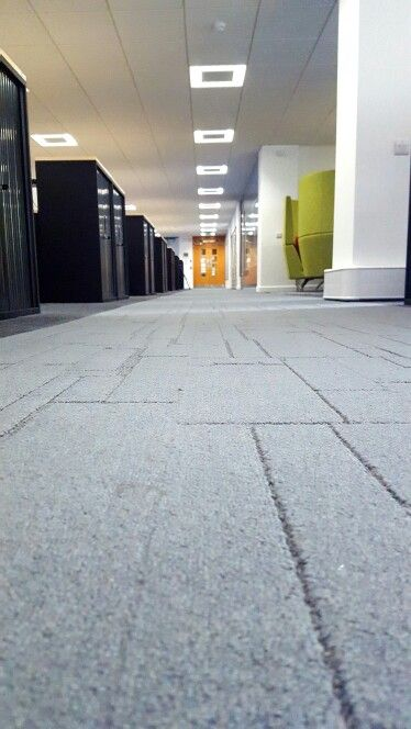 Interface carpet planks