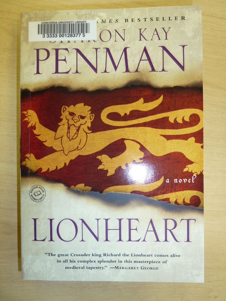 TO READ: Lionheart by Sharon Kay Penman. I saw the movie ages ago, but I think it's been long enough to read the book and separate the two. Can't wait!