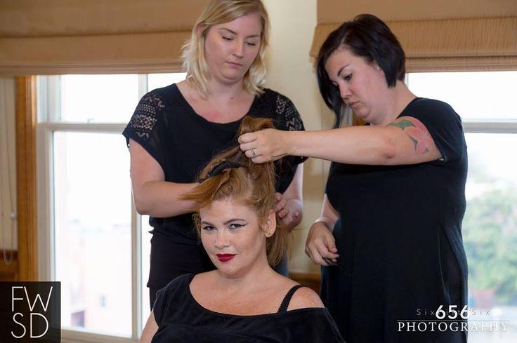 Hair & Makeup by Gila Rut San Diego Salon & Bellus Academy.