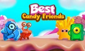 Best Candy Friends принимает вас в мир вкусных конфет и сложных головоломок! Эта игра HTML5 сочетает в себе классический геймплей с прохладными бонусами и удивительных целей, которые часто требуют от вас думать из коробки и найти творческие решения. Но не волнуйтесь! Если вы не в состоянии выполнить цели уровне в пределах количества ходов, которые находятся на руках, вы всегда можете выбрать, чтобы купить еще несколько шагов,  Источник: http://games-topic.com/162-best-candy-friends.html
