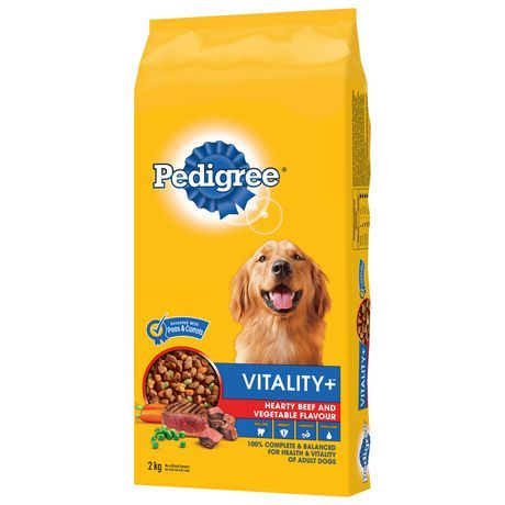 Pedigree Pedigree Vitality Hearty Beef And Vegetable 2kg 2kg In