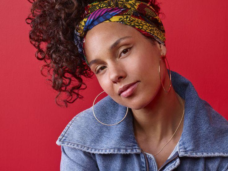 The Secret Behind Alicia Keys's No-Makeup Routine, Revealed  - ELLE.com