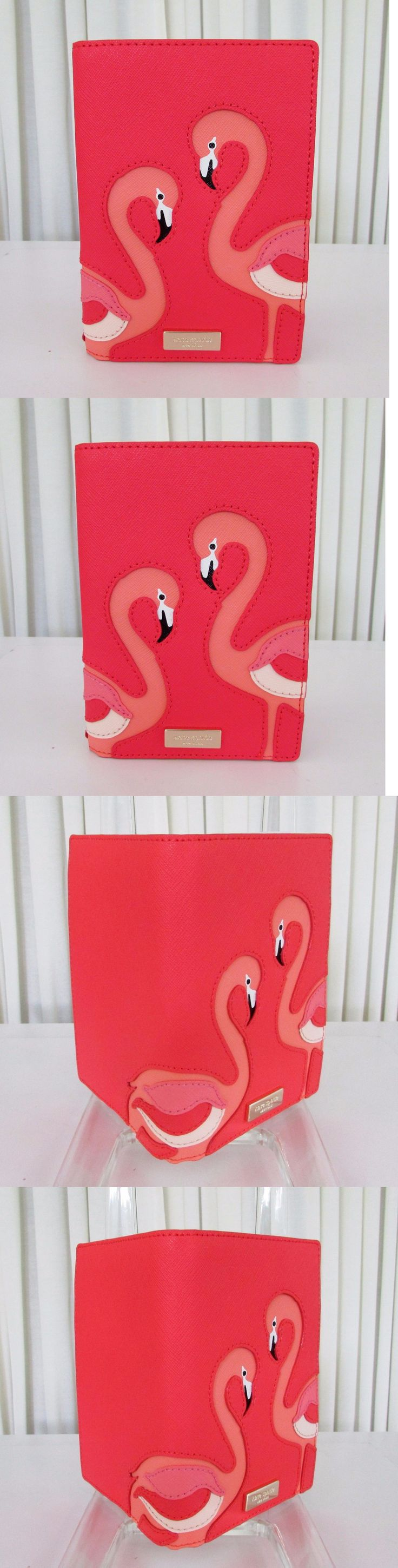 Passport Holders 169288: Kate Spade Flamingo Take A Walk On The Wild Side Passport Holder Wallet Nwt -> BUY IT NOW ONLY: $54.95 on eBay!