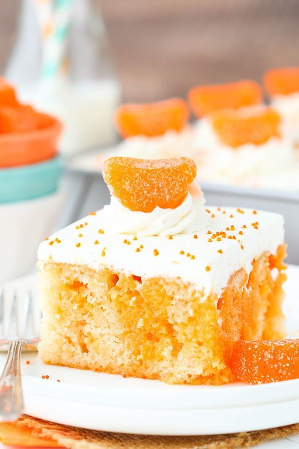 This Orange Creamsicle Poke Cake is made with a homemade vanilla cake that's soaked with a mix of sweetened condensed milk and orange JELLO powder. It's topped with vanilla whipped cream for a combination that is reminiscent of a creamsicle and perfect for summer! I hope you had a wonderful Easter weekend. Ours was relatively …
