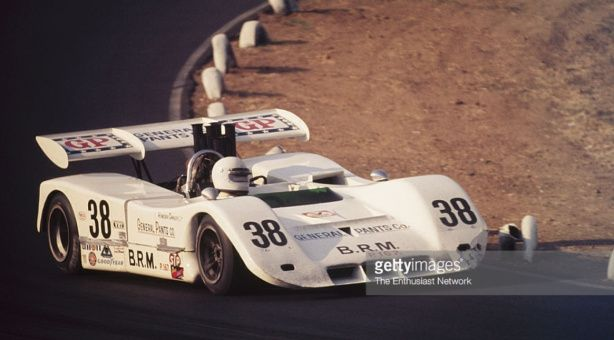 Howden Ganley - BRM P167 Chevrolet - Sid Taylor Racing - 14th Annual Los Angeles Times Grand Prix - Can-Am Riverside - 1971 Canadian-American Challenge Cup, round 10