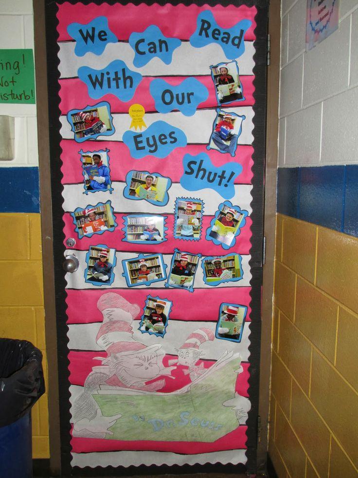 Circus Classroom Decorations ~ Dr seuss door decoration middle school language arts