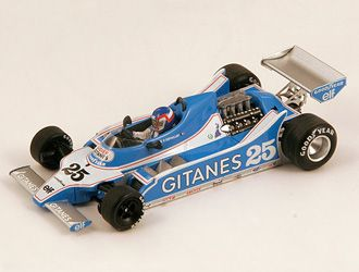 Ligier JS11 (Patrick Depailler - Winner Spanish GP 1979) in Blue (1:43 scale by Spark S0540)