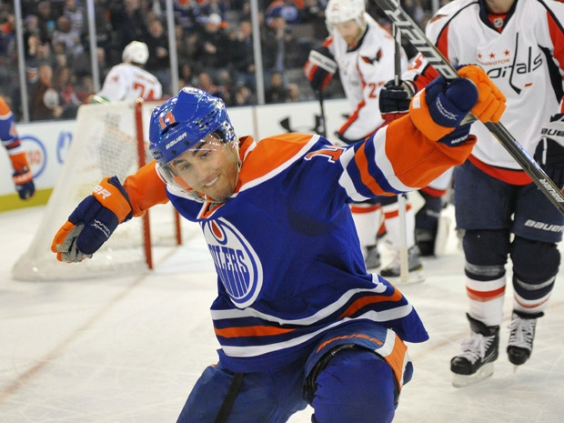 Jordan Eberle signs new six-year deal with Oilers