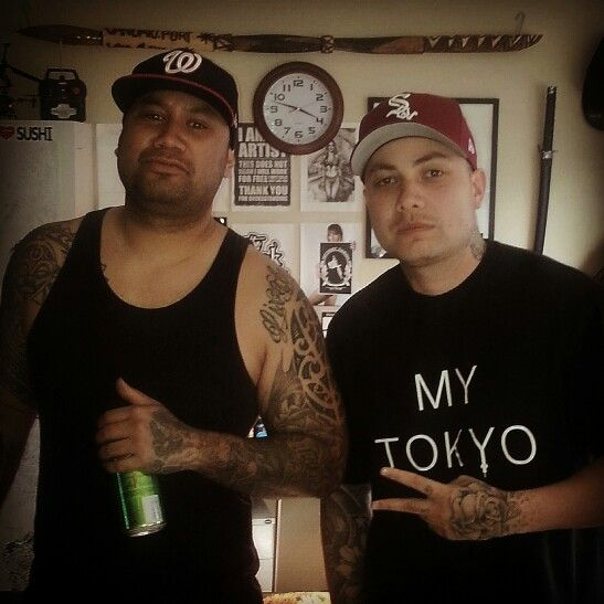 K.one popping into the inkshop