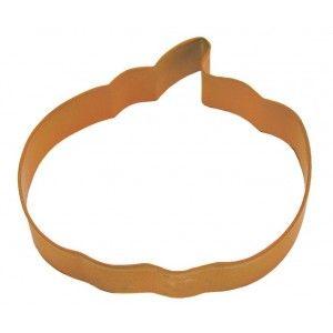 """R & M Pumpkin Cookie Cutter - 5"""" - Orange Golda's Kitchen"""