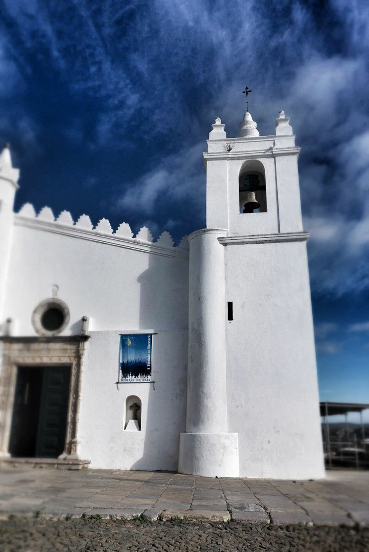Mosque turned church in Mertola, Portugal