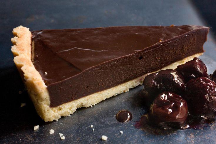 Chocolate Ganache Tart Recipe: great chocolate ganache recipe to use in anything!