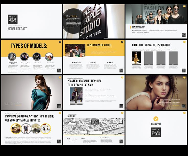 PowerPoint Design by Creative Youngers for We need a PowerPoint to outline what Modeling is about! - Design #3375220