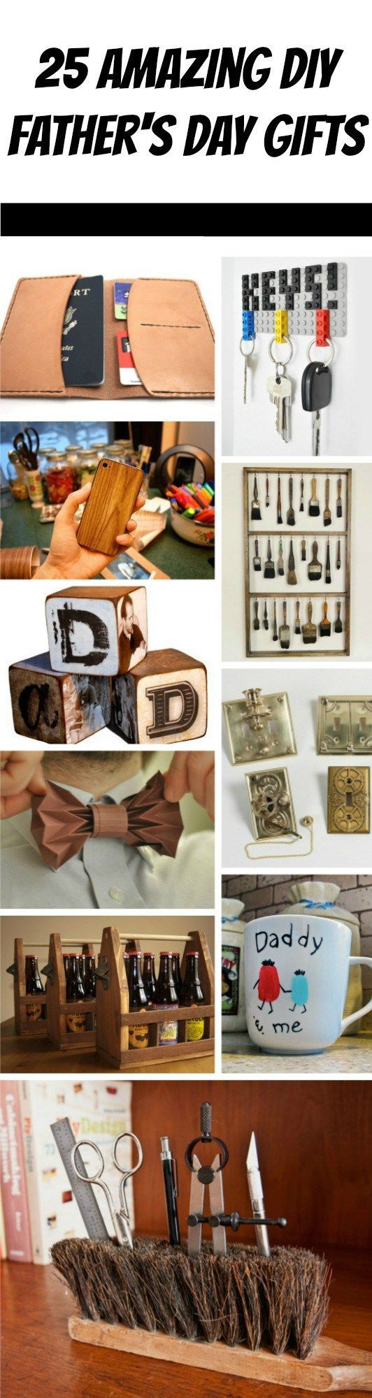 25 Ridiculously Awesome DIY Father's Day Gifts You Can Make