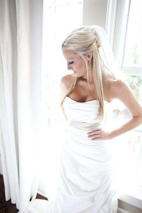 I found my wedding hair!   (Found on Weddingbee.com)