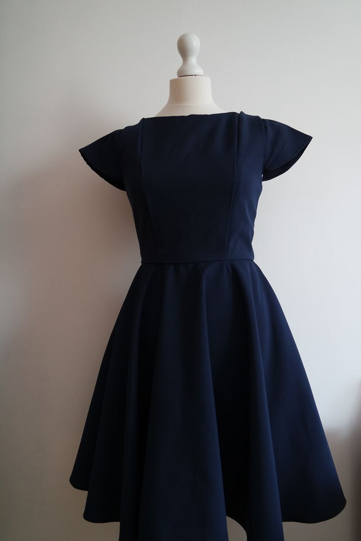 Made by me dress, inspired by Burda pattern