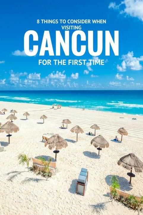 Yo he visitado la playa en Cancun.