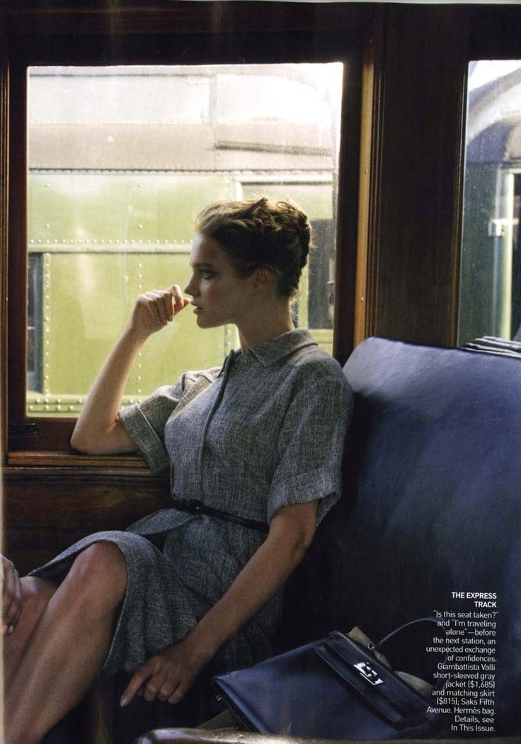 Natalia Vodianova shot by Annie Leibovitz for Vogue